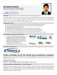 Resume (Cv) Naeem Ahmad Elv Engineer