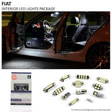 Fiat 500 Interior Light Bulb 2013 2017 Fiat 500e Led Interior Lights Package