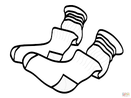 socks coloring pages clothes and shoes coloring pages free coloring pages on coloring pages clothes printable