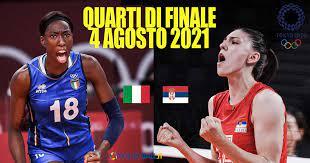 Tokyo2020: Gli abbinamenti dei Quarti di finale femminile. Mercoledì, ore  10 c'è Italia – Serbia