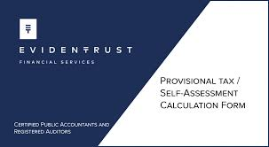 Cyprus Provisional Tax / Self-Assessments Form - Evidentrust ...