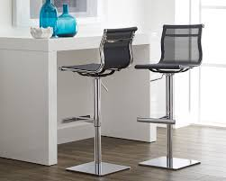 sunpan modern urban unity travis adjustable height bar stool