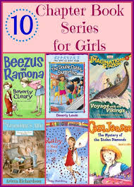 10 chapter book series perfect for young readers