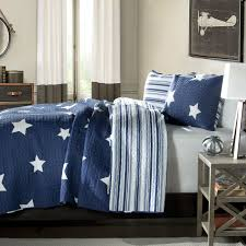 Navy Star And Stripes At Night Quilt Coverlet Bedspread Set & King Navy Star And Stripes At Night Quilt Coverlet Bedspread Set Adamdwight.com