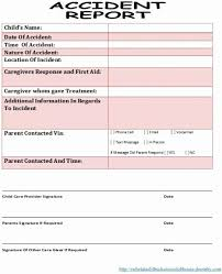 Accident Reporting Form Template Best Of Accident Report