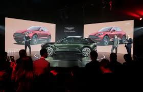 Aston Martin Stock Chart Aston Martin Launches First Suv Hopeful Of A Turnaround By