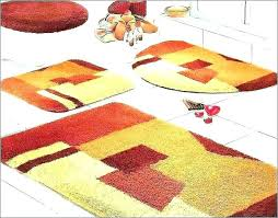 red bathroom rugs red bath rugs bathroom sets big fluffy rug for comfort the new way