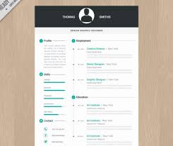 Graphic Resume Templates Simple Find Different Free Graphic Design Resume Template Word Template