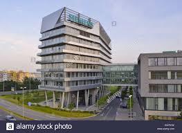 modern office buildings. Modern Office Buildings In Prague Czech Republic Europe E