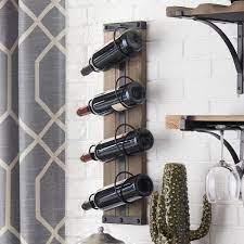 wood wine holder wall off 52