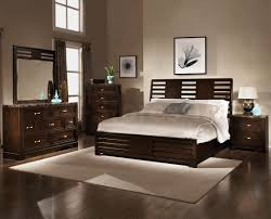 Perfect Bedroom Color Bedroom King Size Black Modern Stained Solid Wood Panel Bed White
