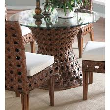 rattan dining room table bases designs
