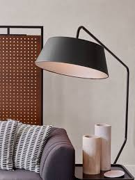 soho living lighting. Photo: \u201cArlo Hudson Square Living Room Lamp Detail\u201d Soho Lighting