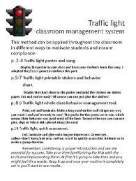 Stoplight Behavior Chart Templates Traffic Light Behavior Chart Worksheets Teaching Resources
