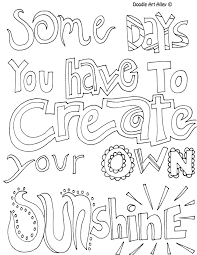 Small Picture All quotes coloring pages great quotes doodle page great to use