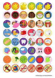 Assorted Reward Chart Stickers Free Printables Reward