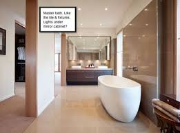 Lighting over bathroom mirror Oval Face When Using The Mirror We Want Clean Modern Look And Dont Like The Look Of Bath Lightvanity Bar Does Anybody Have Any Experience With This Houzz Recessed Lights Above Vanity