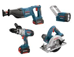 power tools for sale. bosch clpk40-180 18-volt litheon 4 tool combo kit - power packs amazon.com tools for sale a