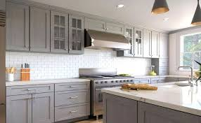 grey shaker kitchen cabinets chen rustic gray