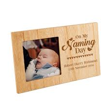 naming day gift a personalised photo frame