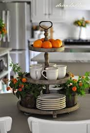 french country kitchen island furniture photo 3. Back Home By Dear Lillie Coffee Cup, 3 Tier Stand. French Country Kitchen Island Furniture Photo I
