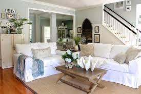 white coastal furniture. Beach House Coastal Slipcover Living Room White Furniture R