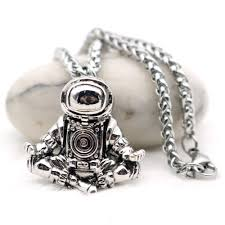 details about best new zen spaceman necklace