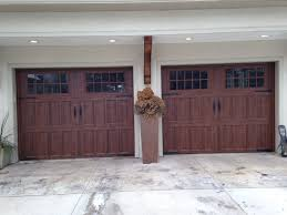 walnut garage doorsAmarr Classica Carriage House Garage Doors North Hampton Style in
