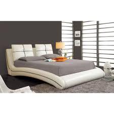 ourem california king size bed white finish