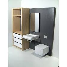 contemporary dollhouse furniture. Fine Dollhouse Modern Dollhouse Furniture Pods Single Vanity Bath Unit  With Toilet And Wardrobe Contemporary  For