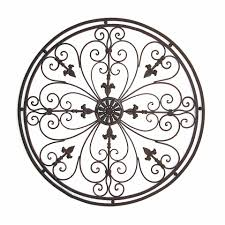 startling outdoor wrought iron wall art decoration ideas scroll decor home design large metal