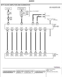 need an audio wiring diagram for a 2003 nissan xterra with radio wiring harness adapter at Nissan Stereo Wiring Harness