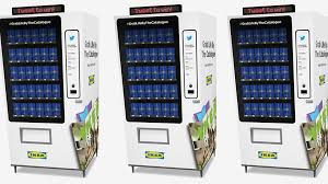 Free Stuff Vending Machine Simple Want FREE Ikea Furniture Here's What You Need To Know