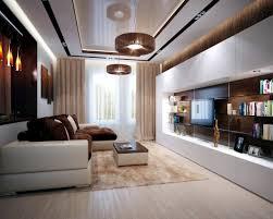 ideas brown is modern living room