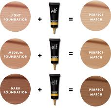 Color Correcting Chart Elf Mix To Match Foundation Undertone Adjuster