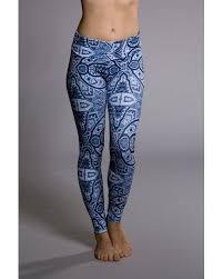 Patterned Yoga Pants Classy New Onzie Leggings 48 Iris Patterned Leggings