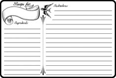 Free Printable Note Cards Template 35 Best Recipe Cards Images Printable Recipe Cards Recipe