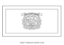 Small Picture West Virginia State Flag coloring page Free Printable Coloring Pages