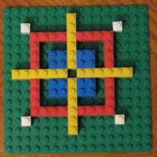 Lego Patterns Mesmerizing Love48learn48day Lego Math Symmetry