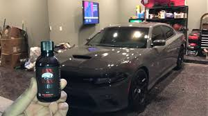 full paint correction and ceramic coating on 2017 charger best wax ever you