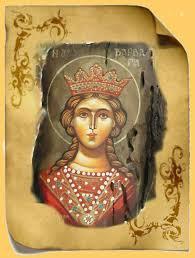 Η αγία βαρβάρα βρίσκεται στη νδ. Aenah Epanastash Agia Barbara Bios Martyrio Kai Ta Tria Para8yra 8eologikh Analysh