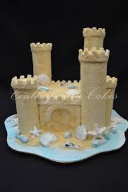 Sand Castle Cake From Contemporary Cake Designs Book One Author