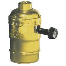 lamp and light bulb sockets adapters at ace hardware leviton brass socket lamp holder turn knob 07090 0pg ace hardware