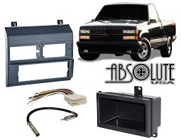 Amazon.com: Stereo Install Dash Kit Chevy Pickup 88 89 90 91 92 93 ...