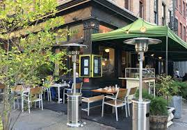 As of august 2020, the outdoor patio is undergoing renovation (there is no outdoor seating). 85 Nyc Restaurants With Heaters For Outdoor Dining 6sqft