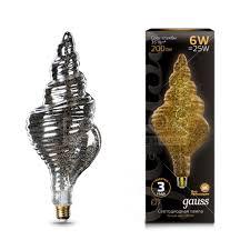<b>Лампа</b> светодиодная <b>Gauss Led Vintage</b> Filament Flexible TL120 ...