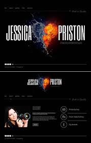 Artist Website Templates New Custom Website Design Art And Photography Jessica Priston Resume