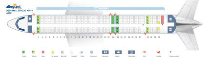 seat map mcdonnell douglas md allegiant air best seats in the