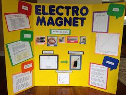 Science Fair Presentation Electromagnet Science Fair