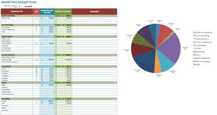 budgeting plans templates 12 free marketing budget templates